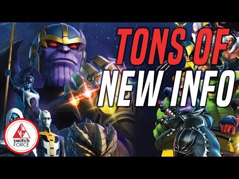 TONS OF NEW DETAILS!! Marvel Ultimate Alliance 3 Switch
