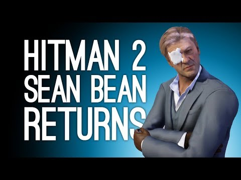 Hitman 2 Sean Bean Returns: SNIPER AND ROBOT 🤖(Elusive Target The Undying Returns)