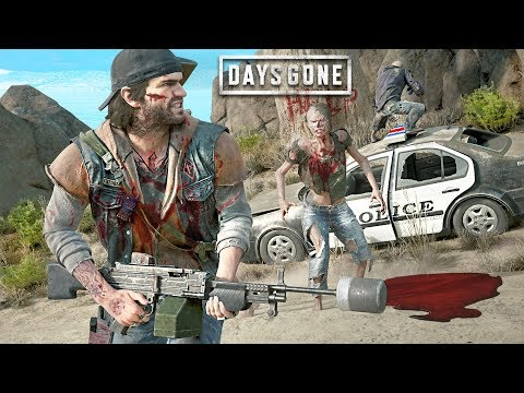BEST WEAPON in the ZOMBIE APOCALYPSE! (Days Gone)