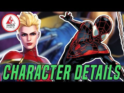 Ultimate Alliance 3 NEW Character Details: Iron Man, Captain Marvel, Miles Morales + More!