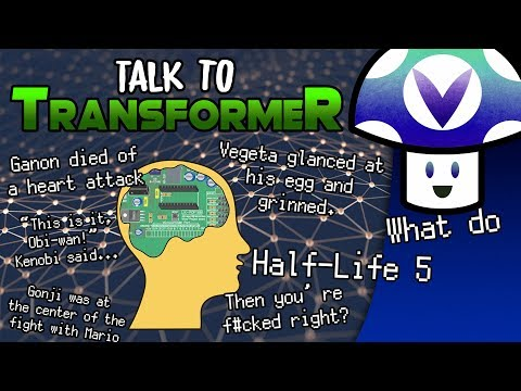 [Vinesauce] Vinny - Talk to Transformer