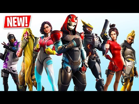 Fortnite SEASON 9 Gameplay! NEW SEASON 9 BATTLE PASS, MAP & SKINS! (Fortnite Battle Royale)