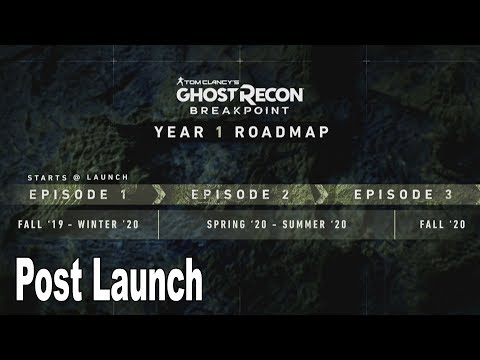Ghost Recon Breakpoint - Post Launch Details [HD 1080P]