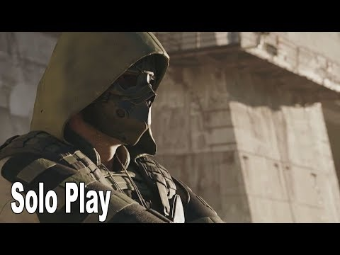 Ghost Recon Breakpoint - Solo Play Details [HD 1080P]