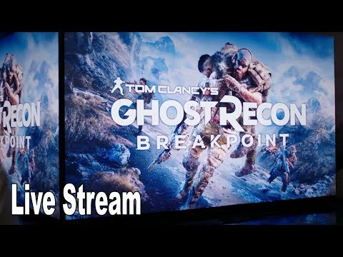 Ghost Recon Breakpoint - World Premiere Live Stream [HD 1080P]