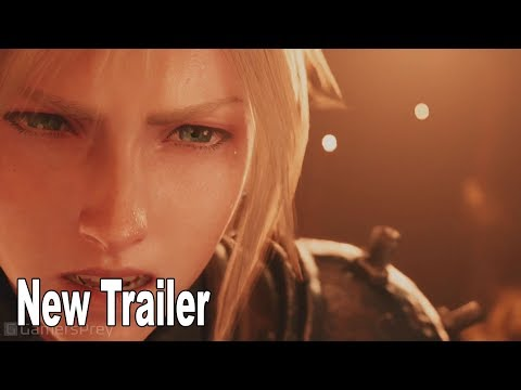 Final Fantasy VII Remake - 2019 New Gameplay Trailer [HD 1080P]