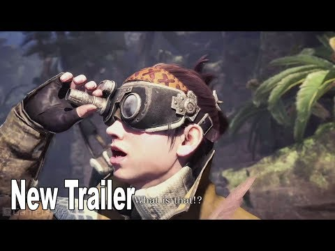 Monster Hunter World: Iceborne - New Trailer [HD 1080P]