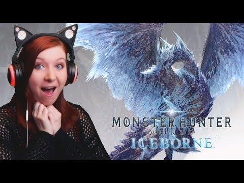 Monster Hunter World Iceborne Trailer REACTION VIDEO