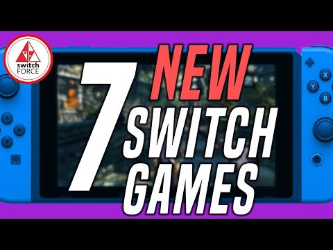 7 NEW Switch Games JUST ANNOUNCED!! (2019 Nintendo Switch Games)