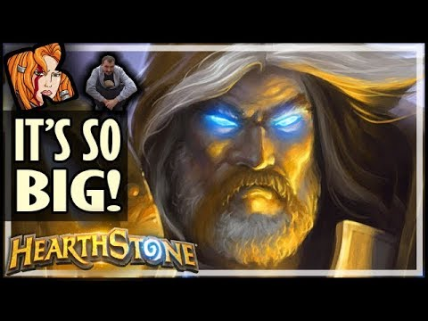 EVEN BIGGER Than Big Paladin! - Rise of Shadows Hearthstone