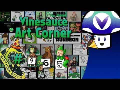 [Vinebooru] Birthday Vinny - Vinesauce Art Corner: Anniversary Edition (PART 965)