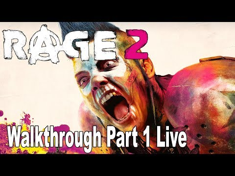 Rage 2 - Walkthrough Part 1 Full Game No Commentary [HD 1080P/60FPS]