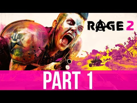 RAGE 2 Gameplay Walkthrough Part 1 - INTO THE WASTELAND (Full Game)
