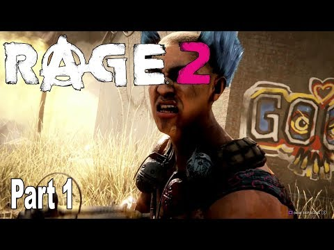 Rage 2 - Walkthrough Part 1 No Commentary [HD 1080P]