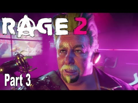 Rage 2 - Walkthrough Part 3 No Commentary [HD 1080P]