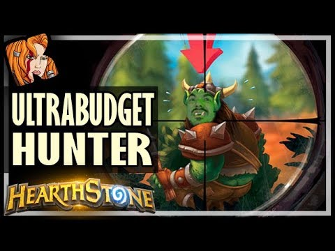 ULTRABUDGET? Hunter Finds A Way - Rise of Shadows Hearthstone