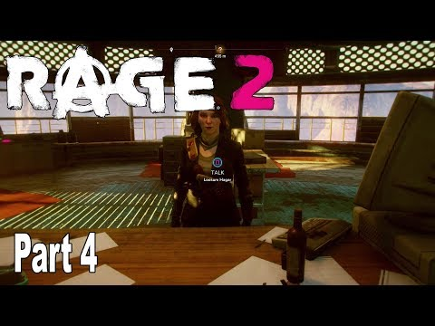 Rage 2 - Walkthrough Part 4 No Commentary [HD 1080P]