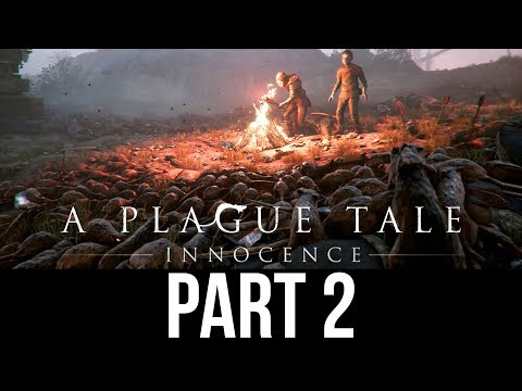 A PLAGUE TALE INNOCENCE Gameplay Walkthrough Part 2 - RATS (Full Game)