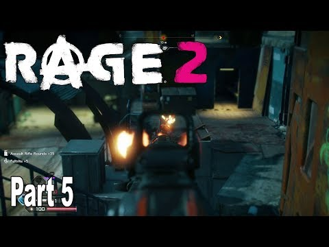Rage 2 - Walkthrough Part 5 No Commentary [HD 1080P]