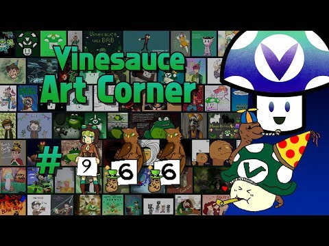 [Vinebooru] Birthday Vinny - Vinesauce Art Corner: Anniversary Edition - Day 2 (PART 966)