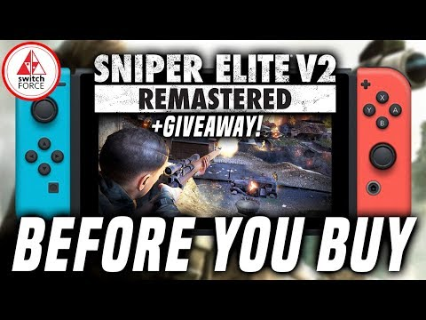 Sniper Elite V2 Remastered Switch: How Does It Run/Play + Handheld Mode! GIVEAWAY