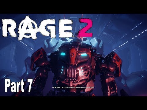 Rage 2 - Walkthrough Part 7 Final No Commentary [HD 1080P]