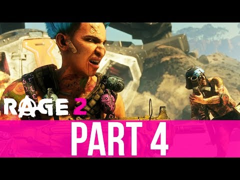 RAGE 2 Gameplay Walkthrough Part 4 - CULT OF THE DEATH GOD (Full Game)