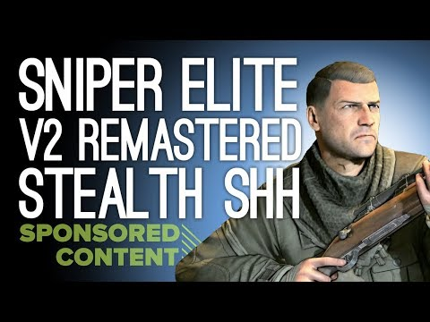 Sniper Elite V2 Remastered Gameplay: STEALTH SNIPING SHHH (Sponsored Content)