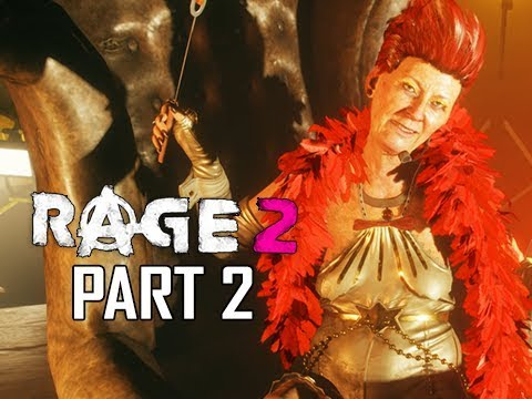 RAGE 2 Walkthrough Part 2 - Monster Ball (Gameplay Commentary)