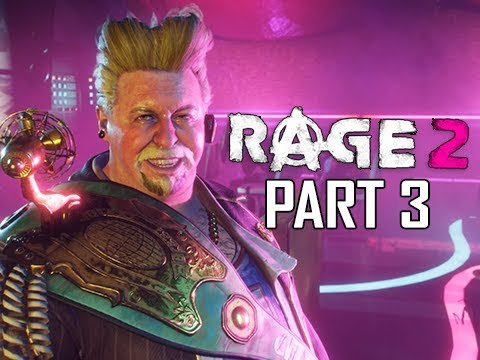 RAGE 2 Walkthrough Part 3 - Winner's Lounge (Gameplay Commentary)