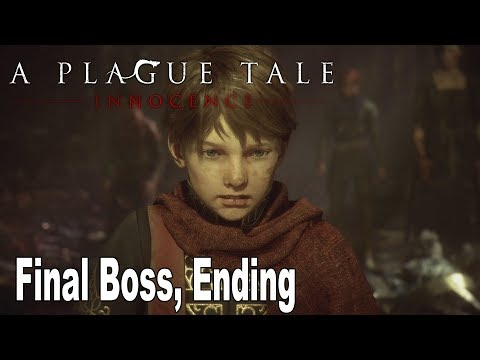A Plague Tale: Innocence - Final Boss, Ending and Epilogue [HD 1080P]