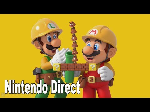 Super Mario Maker 2 - Full Nintendo Direct Presentation [HD 1080P]