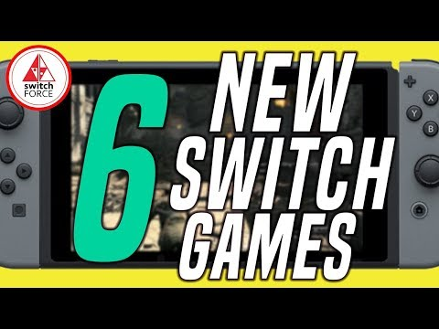 6 NEW Switch Games JUST ANNOUNCED + NEW GAME GIVEAWAY!! (2019 Nintendo Switch Games)