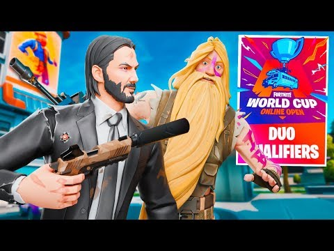Fortnite WORLD CUP QUALIFIER $1,000,000 DUOS Tournament! (Fortnite Battle Royale)
