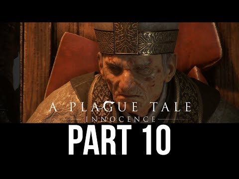 A PLAGUE TALE INNOCENCE Gameplay Walkthrough Part 10 - THE BOOK (Full Game)