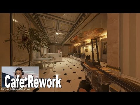 Rainbow Six Siege: Operation Phantom Sight - Cafe Rework Preview [HD 1080P]