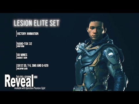 Rainbow Six Siege - Lesion Elite Skin Reveal Trailer [HD 1080P]