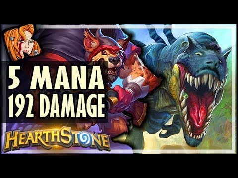 5 MANA 192 DAMAGE?! - ANOMALY MODE - Dalaran Heist  - Rise of Shadows Hearthstone