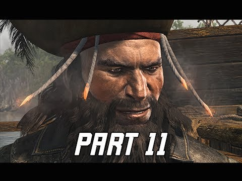 Assassin's Creed 4 Black Flag Walkthrough Part 11 - Blackbeard (PC AC4 Let's Play)