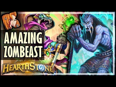 BEST ZOMBEAST IN THE UNIVERSE #2 - Dalaran Heist - Rise of Shadows Hearthstone