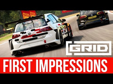 I'VE PLAYED GRID 2019 (First Impressions & Preview)