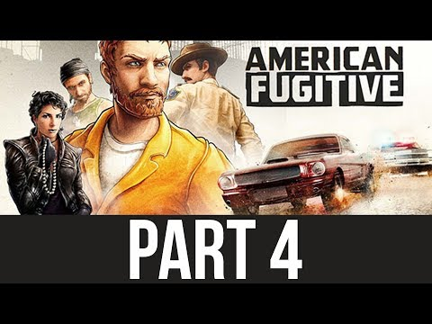 ENTERING A POLICE STATION - AMERICAN FUGITIVE Gameplay Walkthrough Part 4