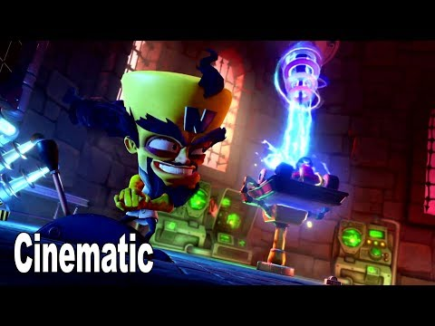 Crash Team Racing Nitro-Fueled - Adventure Mode Cinematic [HD 1080P]