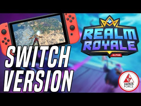 Realm Royale Switch Gameplay - How Does It Run? Another Good Free To Play Switch Game?
