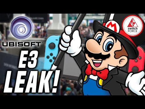First E3 2019 Leak! NEW Ubisoft IP Coming To Switch?