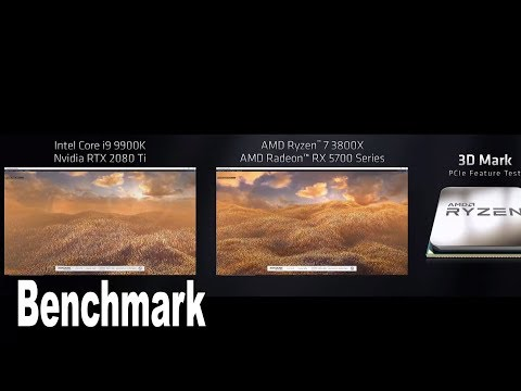 PCI Express 3.0 vs PCI Express 4.0 3D Mark PCIe Feature Test Benchmark [HD 1080P]