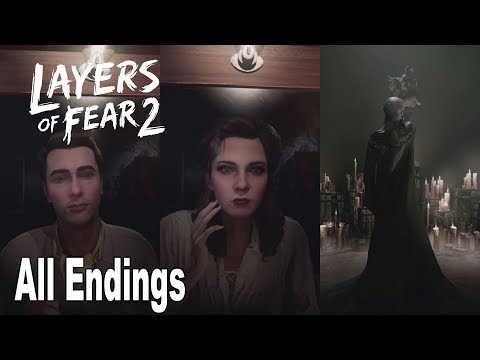 Layers of Fear 2 - All Endings + Secret Ending [HD 1080P]
