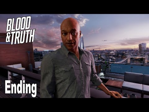 Blood & Truth - Ending and Credits [HD 1080P]