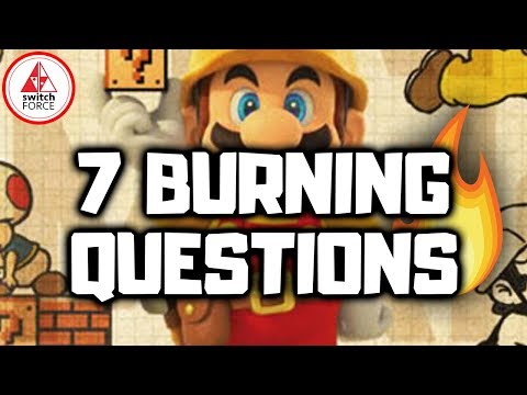 7 BURNING Questions After Playing Super Mario Maker 2!