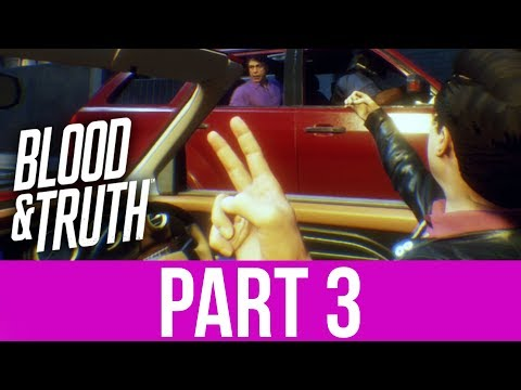 BLOOD & TRUTH Gameplay Walkthrough Part 3 - GALLERY & JUMP SCARES